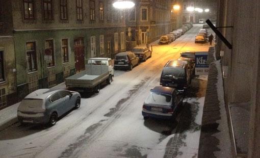 Kalt in Wien